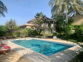 Propriété privée avec piscine à vendre à Saly