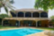 Villa avec piscine en bord de mer à Warang