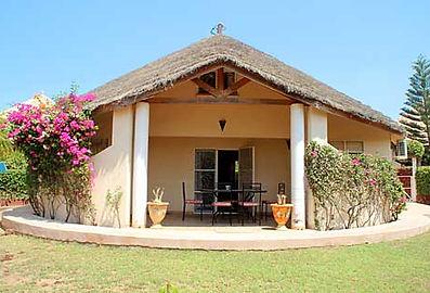 A louer villa 2 chambres + mezzanine en résidence bord de mer à Saly