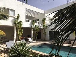 Villa contemporaine à vendre en bord de mer à Saly