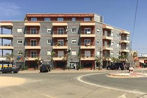 Appartement à vendre 2 chambres avec terrasse au rond point de Ngaparou