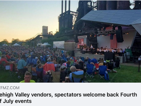 Lehigh Valley vendors, spectators welcome back Fourth of July events