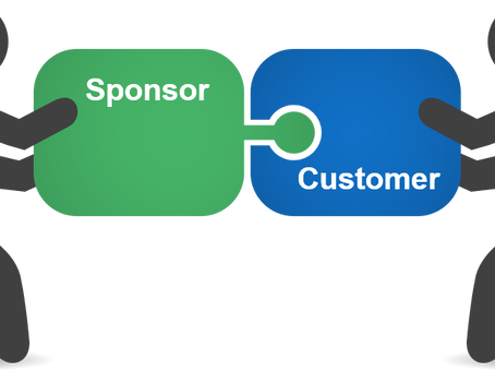 The customer and the sponsor – why we should care about the different roles