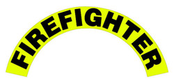 Helmet Crescents (Black on Yellow)