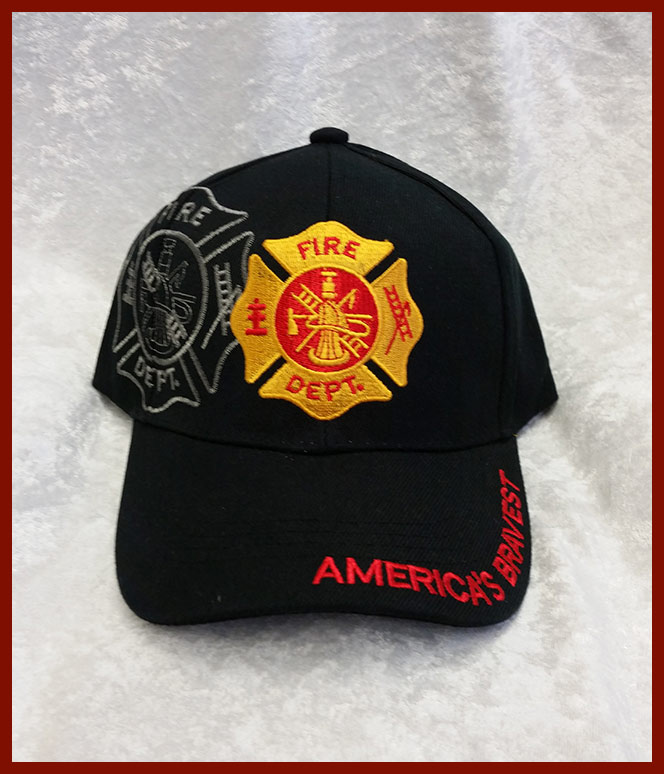 Fire Department Cap