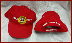 "Front and Back ""Fire Dept"" Cap"