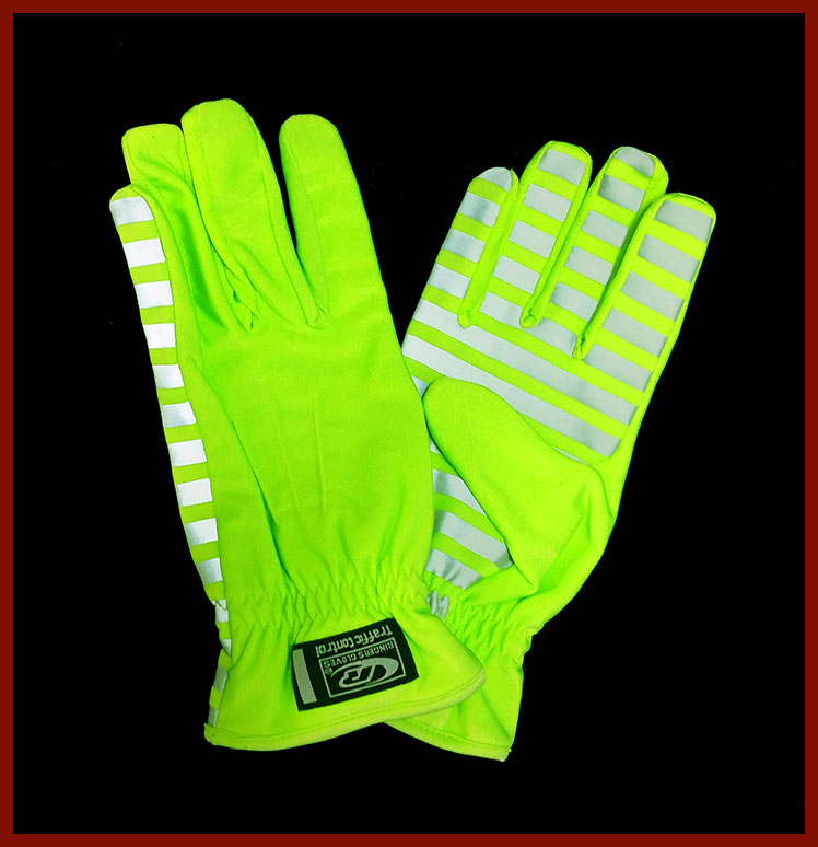 High-Vis Traffic Gloves