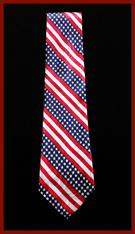 Polyester Flag Tie