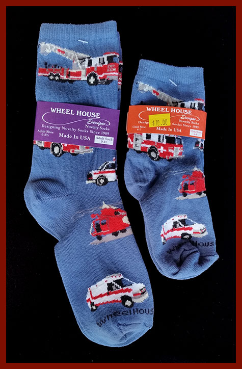 Adult and Child Size Socks