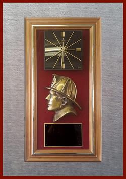 Red Velvet Clock