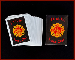 """First In, Last Out"" Playing Cards"