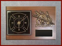 """America's Bravest"" Clock"