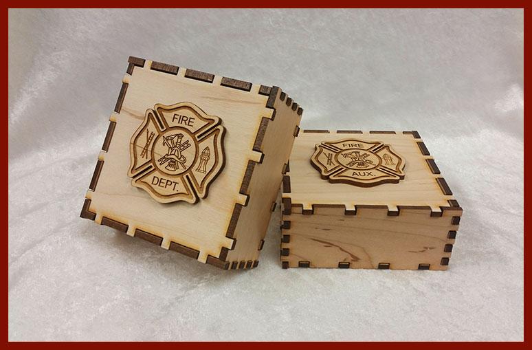 Laser-Cut Keepsake Boxes