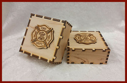 Laser-Cut Keepsake Boxes