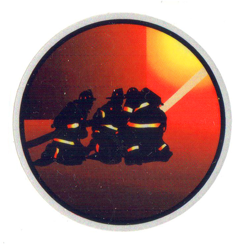 Firefighters With Hose