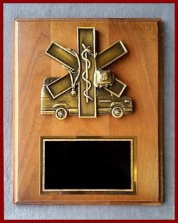 EMT/EMS Plaque