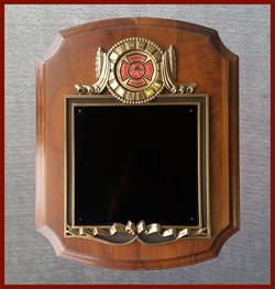 Volunteer Firefighter Wreath