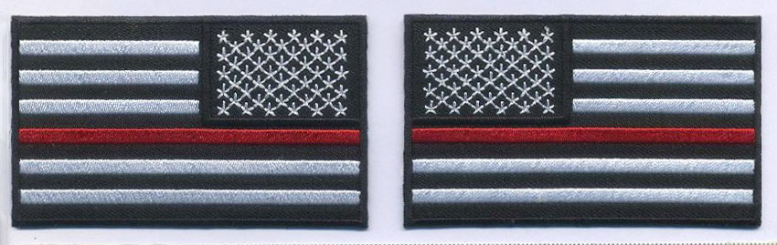 """""""Thin Red Line"""" Patch"""