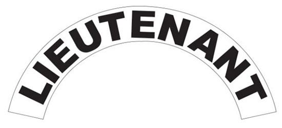 Helmet Crescents (Black on white)
