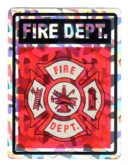 Fire Dept. Holographic