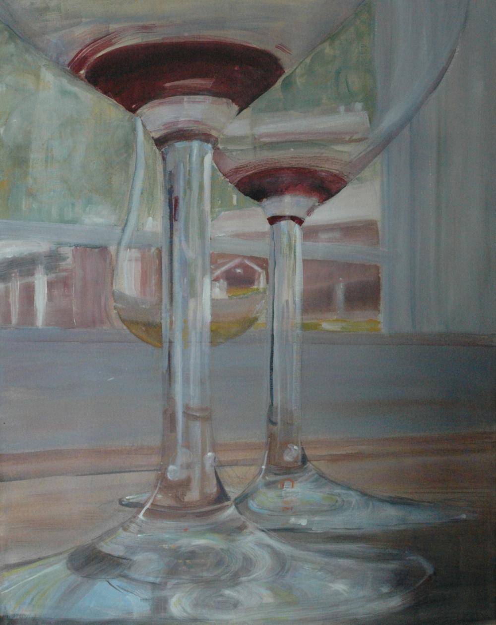 Tre glass 80x100