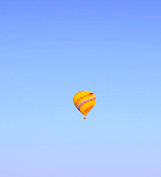 That's the balloon!