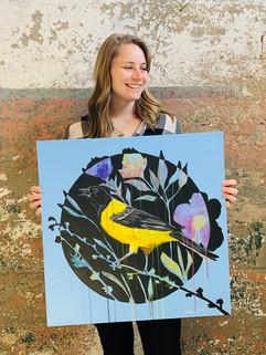 Audubon Oriole by Andrea Holmes