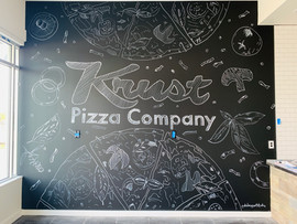 Krust Pizza Co. Mural