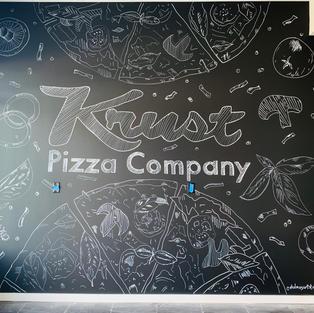 Krust Pizza Co. Mural