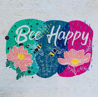 Bee Happy at Roots Pressed Juices by A. Holmes