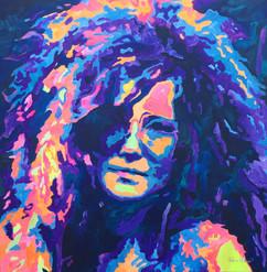 Janice Joplin by Andrea Holmes