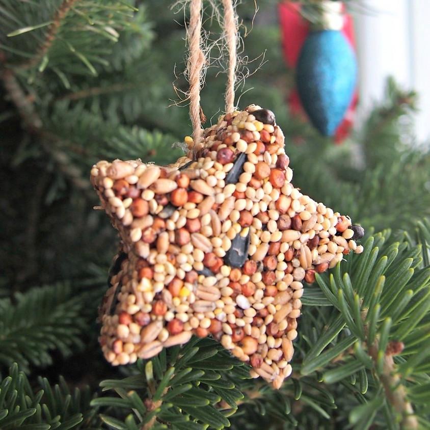 Birdseed Cookie Cutter Ornaments