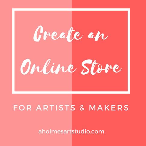 Create an Online Store