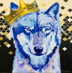 Biggie Wolf by Andrea Holmes