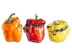 Peppers by Andrea Holmes