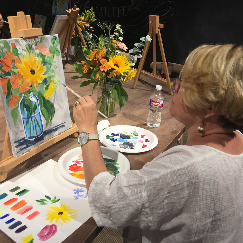 February Floral Painting Workshop