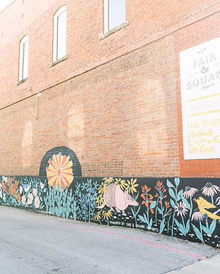 McKinney Mural by Andrea Holmes