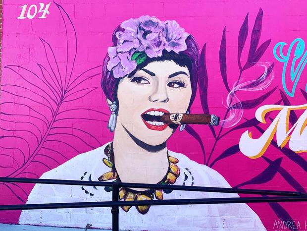 Guava Tree Mural - 1