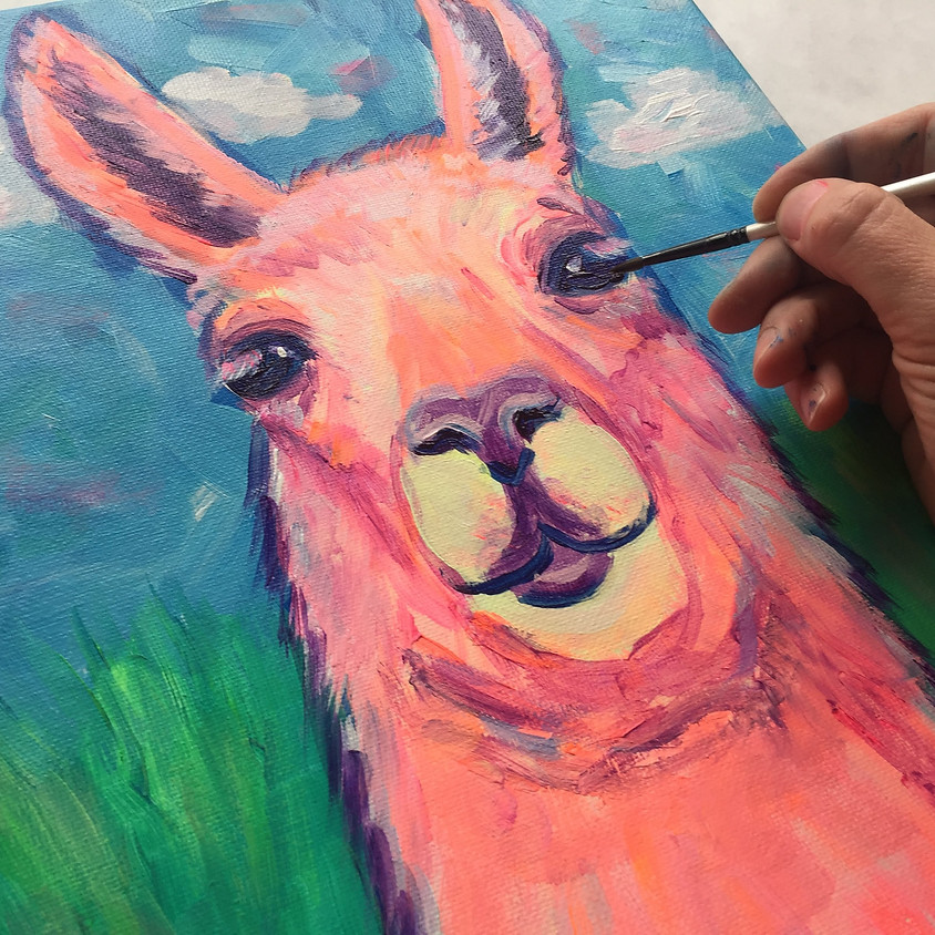 Llama Farm Tour & Painting Workshop