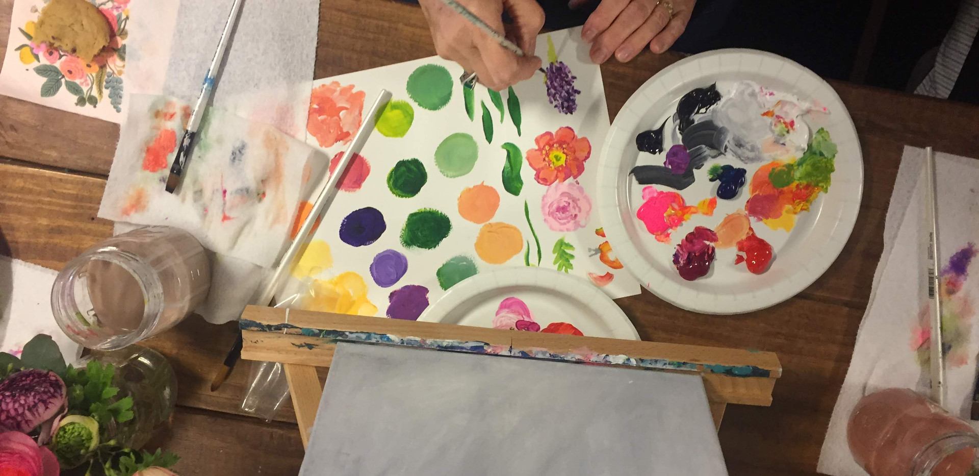 Floral Painting Workshop