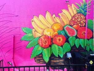 Guava Tree Mural - 3
