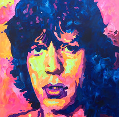Mick Jagger by Andrea Holmes