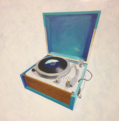 Melody Record Player by Andrea Holmes