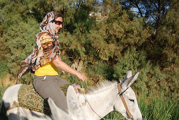 Donkey ride to the Valley of the Kings.j