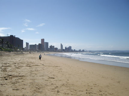 Beach in Durban