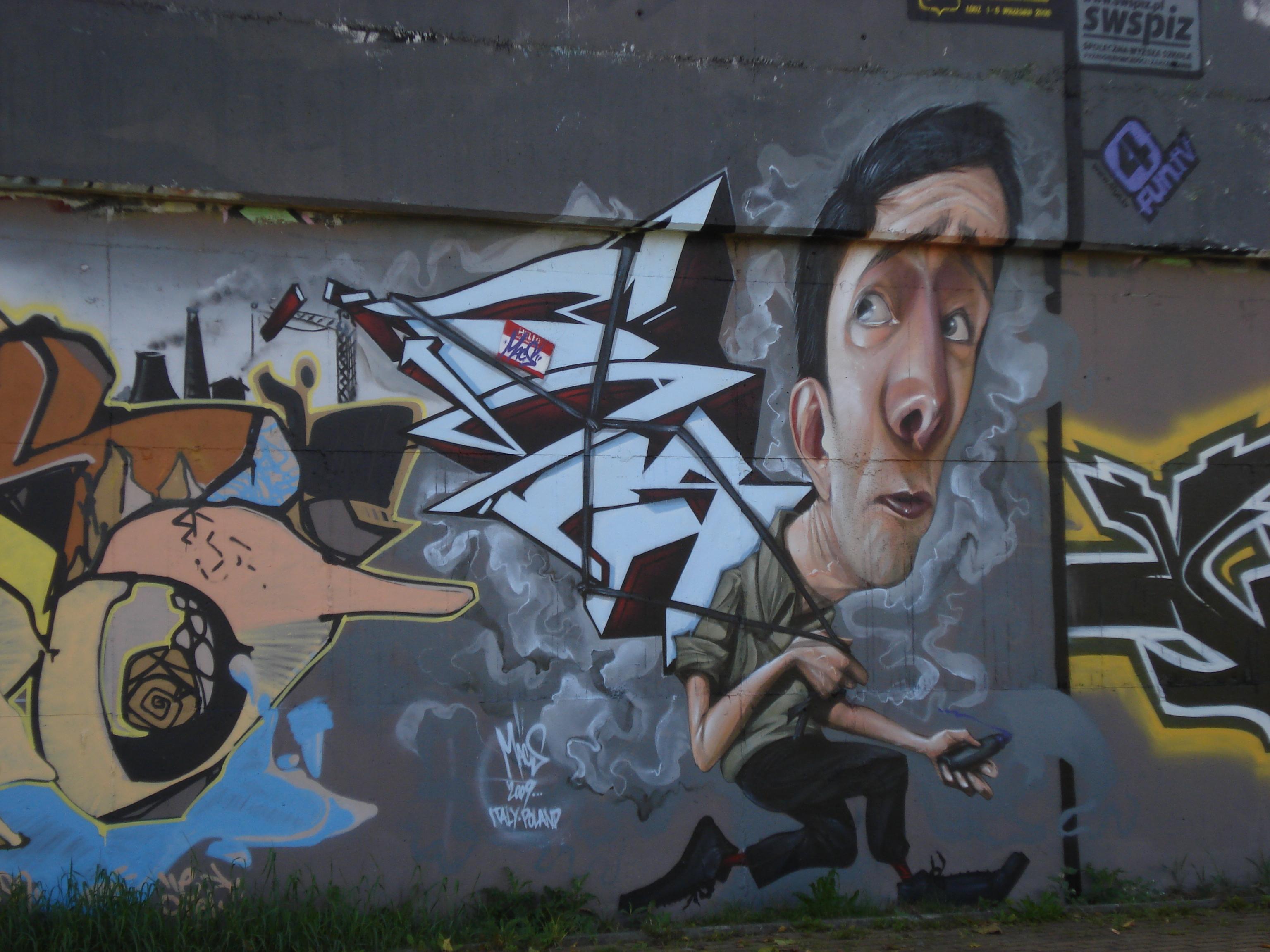 Mural Łódź Kaliska