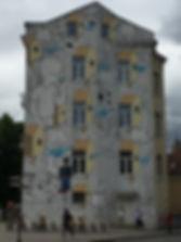 The Bagel graffiti