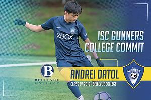 Class of 2019 - Andrei Datol - Bellevue