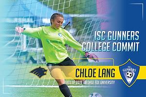 Class of 2019 - Chloe Lang - George Fox.