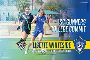 Class of 2018 - Lisette Whiteside - Cent